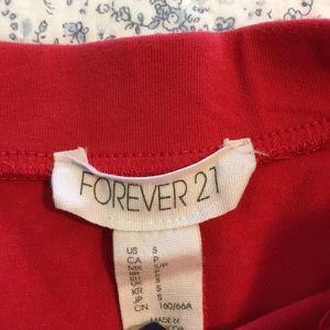 Forever 21 Skirts - Red Circle Skirt